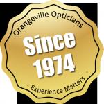 Optician services Orangeville since 1974